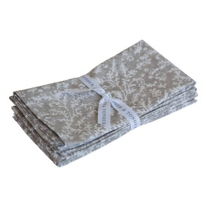 Stone Cotton Lavender Napkins