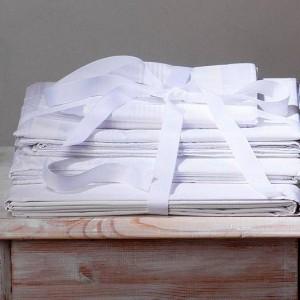 pure white sheets